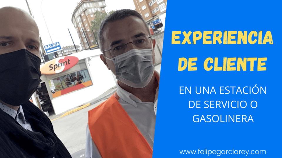 Mi experiencia de cliente en una estación de servicio o gasolinera de Repsol